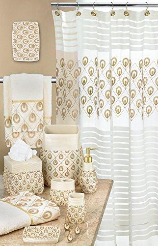 (Popular Bath Shower Curtain, Seraphina Collection, 70