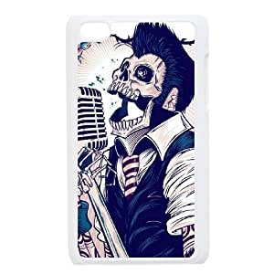 Ipod Touch 4 Case Zombie, Ipod Touch4 Case, {White} 6229388341152