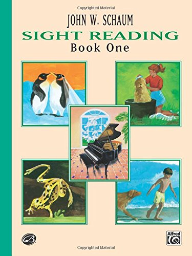 Sight Reading, Bk 1 (Schaum Method Supplement) (Books John Schaum Method Piano)