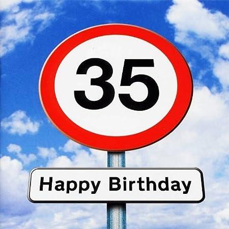 Auguri Di Buon Compleanno 35 Anni.Biglietto Di Auguri Per 35esimo Compleanno Twizler Motivo