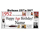 1952 DELUXE PERSONALIZED BANNER by Partypro