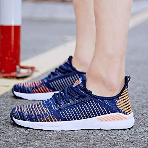 la Casual Corsa da Sneakers Jogging Piatte Usura per Tutta Traspirante da comode in Moda Scarpe Sportive Stringate Mesh Stagione Quotidiana Scarpe 4Ovnd4Tq
