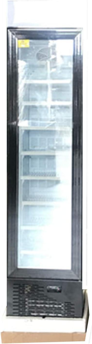 "Cooler Depot Brand 17"" Commercial 1 Glass Doors 105L Upright Narrow NSF Freezer -SD105B"