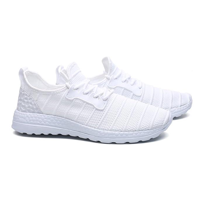 FZUU, Sneaker uomo, Bianco (bianco), 43