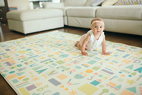 Baby Care Play Mat Haute Collection Large Sea Petals Import