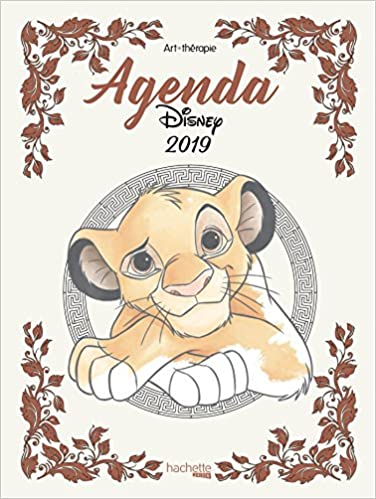 Agenda Art-Thérapie Disney 2019 (Heroes): Amazon.es: Jean ...