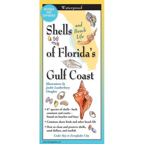 - Folding Guides Florida's Gulf Coast Shells and Beach Life #GS-104