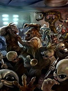 Amazon Com Photosight Mos Eisley Cantina Aliens Band Tatooine Star Wars Art 24x18 Print Poster Posters Prints