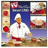 Chef Tony's CTSL6 Smart Lidz Vacuum Sealing Lids by MANUFACTURERS CLEARANCE