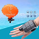 CapsA Anti-Drowning Bracelet Floating Wristband Swimming Safety Device Water Aid Lifesaving Vests Wearable Water Buoyancy Aid Device- Inflatable Airbag Portable and Safety (Black)