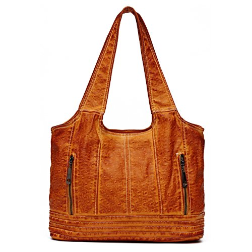 Washed Leather Hobo - 7
