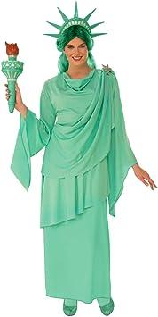 Horror-Shop Disfraz de la Estatua de la Libertad para Damas S ...