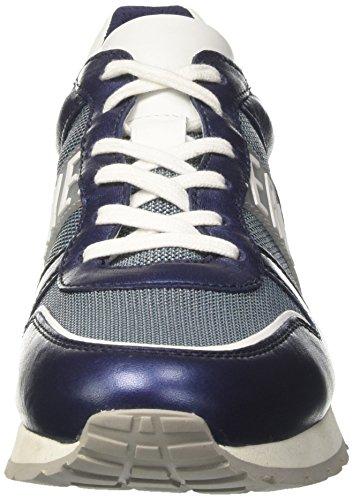 Bikkembergs Damen Kate 853 Sneaker Blau (blauw / Wit)