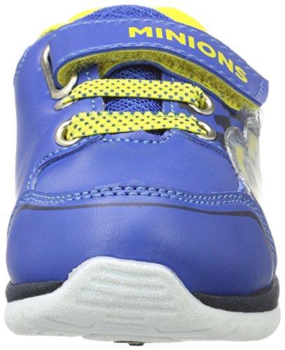 MINIONS Jungen De002990 Sneaker Blau (C.Blue/C.Blue/Navy/Navy/Yellow)