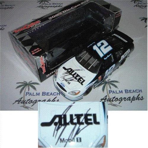 (Ryan Newman Autographed Alltel #12 (2002 Team Caliber Pit Stop) 1/24 Diecast Car)