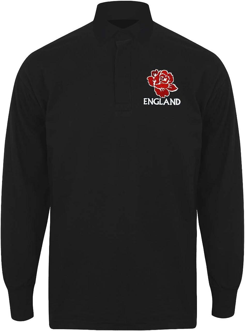 Camiseta de rugby vintage de manga larga con el escudo de ...