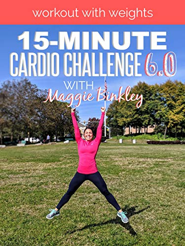 15-Minute Cardio Challenge 6.0 Workout (with weights)