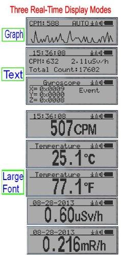 GQ GMC-320+V4 Digital Geiger Counter Data Logger Dosimeter Radiation Detector
