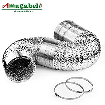 6in Aluminum Foil Duct Hose Flex Grow Tent Room