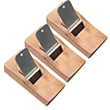 Wooden Hand Planer Vinmax Japanese Hand Plane Blade Router Tools for Carpenter Sharpening Woodworking Handle Tool Set-3 Packs