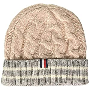 Tommy Hilfiger Women's Cable Knit Beanie