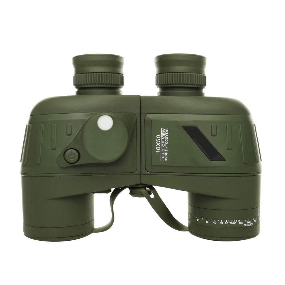 超格安一点 Aingol 10X50 マリン双眼鏡用大人用軍用双眼鏡防水距離計コンパス BAK4 B07Q73XN1Q プリズム FMC レンズ Fogproof Fogproof レンズ 用ナビゲーションバードウォッチング狩猟 B07Q73XN1Q, ギフトの専門店 スマイルギフト:5c4e0168 --- agiven.com