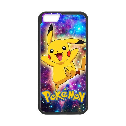 Coque Protection pour iPhone6 6S,Apple iPhone 6S Hard Case,Coque IPhone 6,Pokemon Pikachu Protection Case Protective Cover Coque Housse Etui pour Apple IPhone 6 6S(4.7 inch)