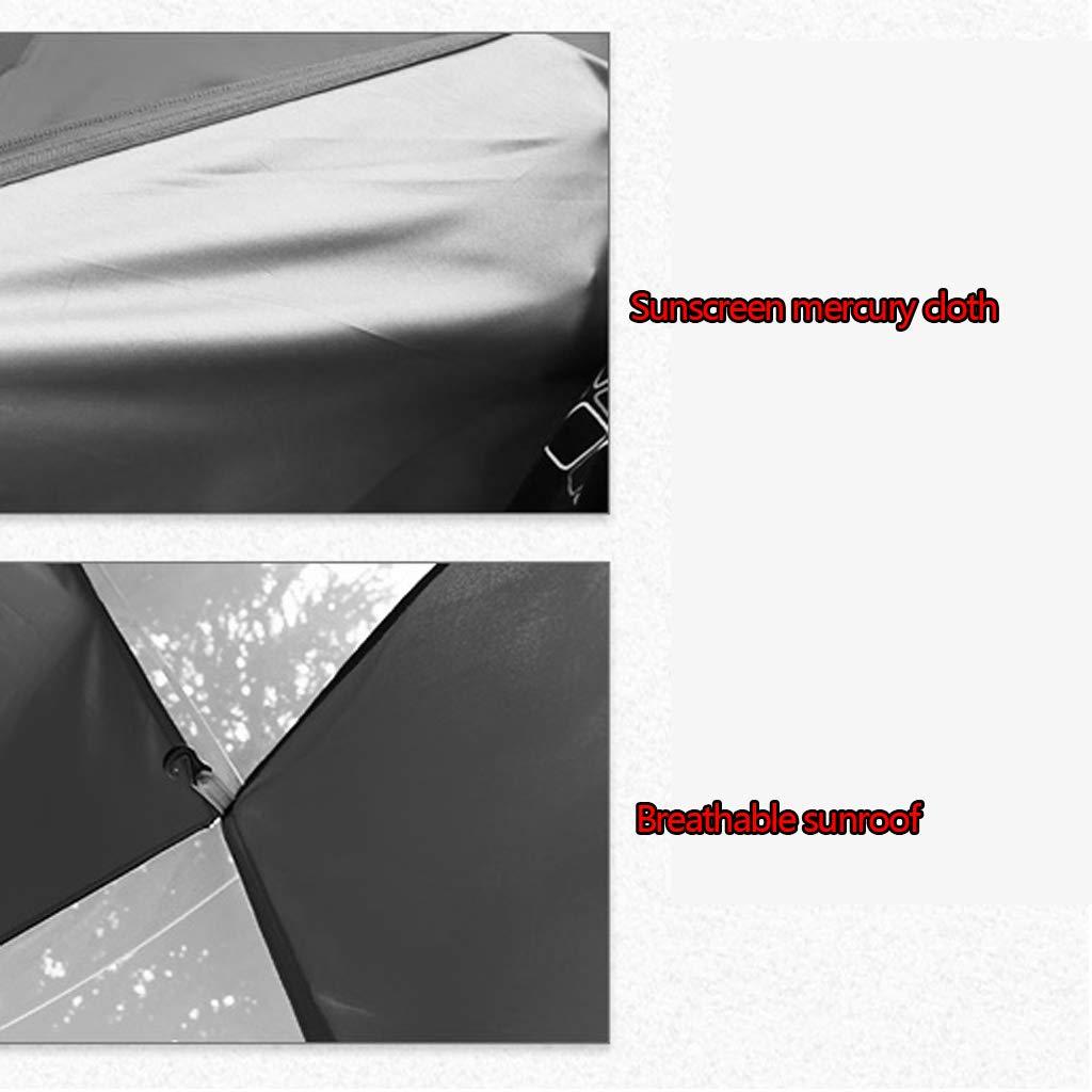 Doppeltes starkes regendichtes Zelt des Zeltes des Zeltes des Zeltes Zeltes des Zeltes Zeltes des Zeltes des Zeltes des Zeltes zwei automatische wahlweise freigestellt ( Farbe   Grün , Größe   215210135cm ) fabea4