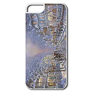 Winter Painting By Robert Finale Plastic Favorable Case For IPhone 5/5s wangjiang maoyi