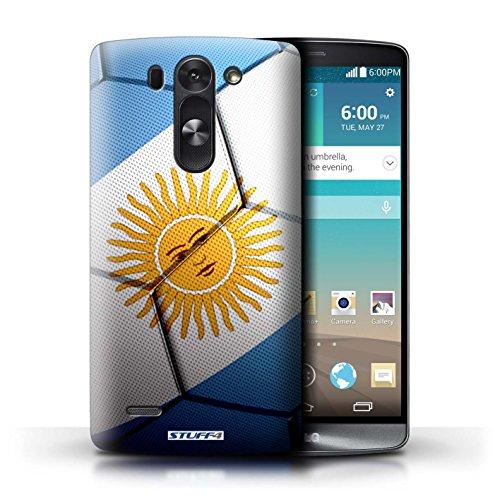 Kobalt® Imprimé Etui / Coque pour LG G3 S (Mini)/D722 / Argentine conception / Série Nations de Football