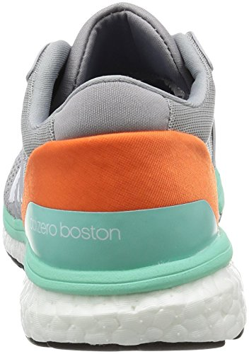 easy Entrainement Adidas Boston Chaussures Femme Orange White Gris mid Adizero De 6 ftwr Grey Running BRBpxqO