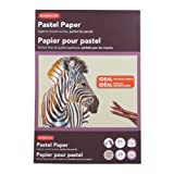 Derwent Pastel Paper Pad, A5, 5.83 x 8.27 Inches Page Size, Gray, 24 Sheets (2302102)