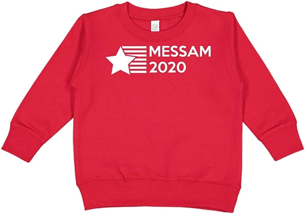 Presidential Election 2020 Toddler//Kids Sweatshirt Mashed Clothing Messam 2020 Star//Stripes