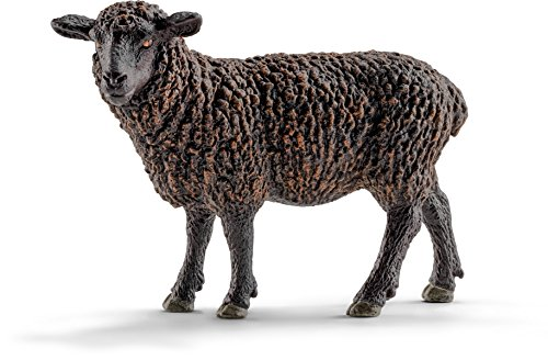 Schleich Black Sheep Toy Figure (2015 Sheep Figurine)