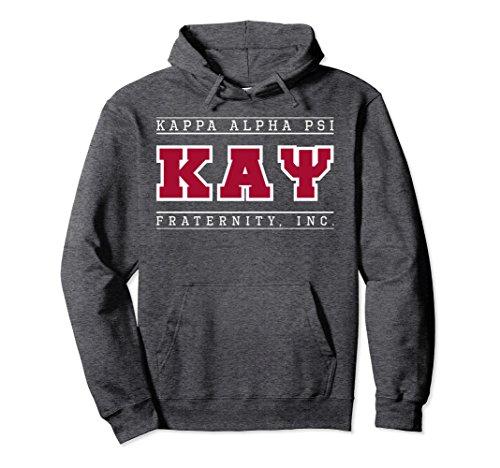 Unisex Kappa Alpha Psi Fraternity, Inc. Hoodie 2XL Dark (Kappa Classic Sweatshirt)