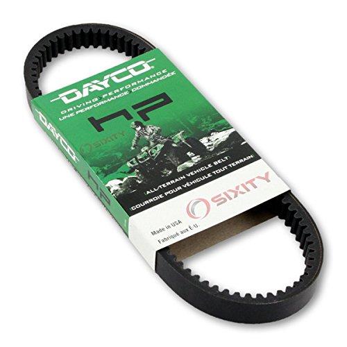 1997-2012 for Polaris Scrambler 500 4x4 Drive Belt Dayco HP ATV OEM Upgrade Replacement Transmission Belts