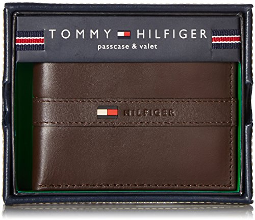 Tommy Hilfiger Men S Thin Sleek Casual Bifold Wallet With