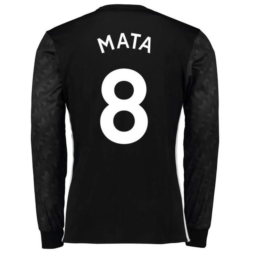 Breathable Quick-Drying Long Sleeves HJM Juan MATA #8 Mens Football Sportswear