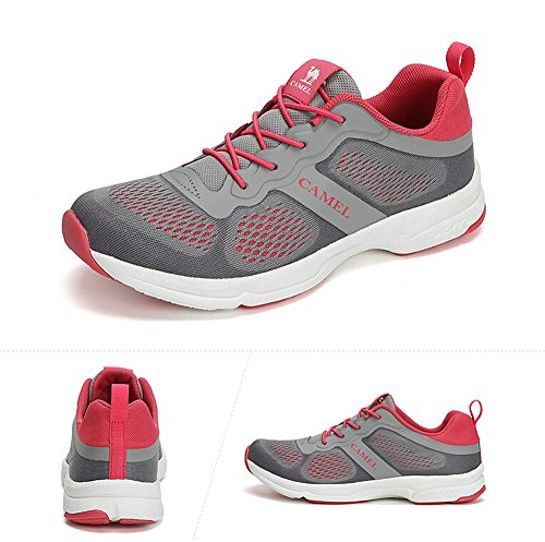 Camel Womens Outdoor Walking Shoes Color Grey Size 39 M EU hdSLBN