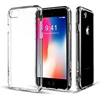 Jisoncase TC-IP7-17P02 iPhone Elastic TPU Transparent Scratch Resistant Crystal Clear Cover