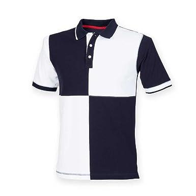 f4c3896eb10 Front Row Mens Quartered House Polo Shirt: Amazon.co.uk: Clothing