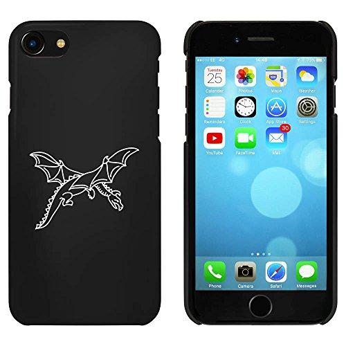 Schwarz 'Fliegender Drache' Hülle für iPhone 7 (MC00087300)