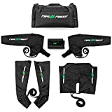 Rapid Reboot Complete Package: Compression Boot, Arm, Hip, Pump, & Duffel. Sequential air compression therapy for improved circulation and workout recovery for athletes