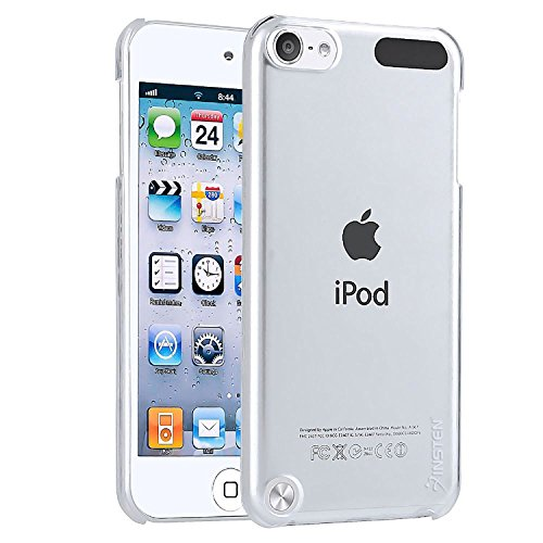 Insten Clear Ultra Thin Slim Hard Snap-On Transparent Crystal Back Cover Skin Case Compatible with New iPod Touch 7 Gen 7th/ 6th Generation 6 Gen / 5th Generation 5 Gen (Ipod Crystal Skin)
