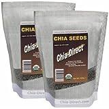 100% CHEMICAL FREE raw chia seeds 1kg