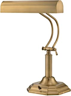Lite Source Piano Mate Antique Brass Desk Lamp