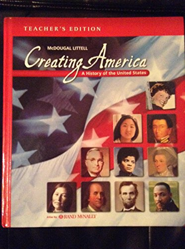 McDougal Littell Creating America: Teacher Edition Grades 6-8 2002