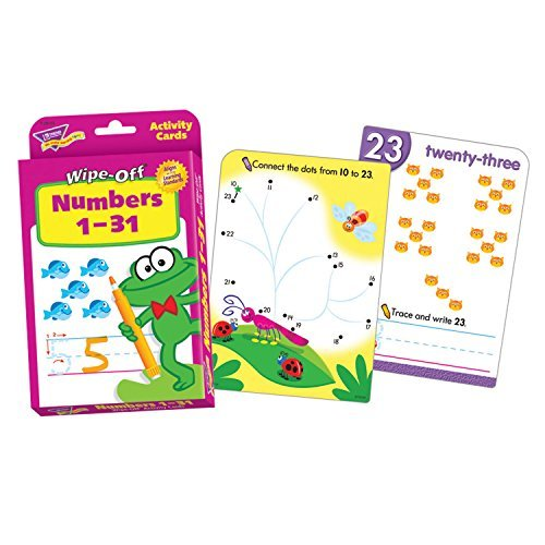 Trend Enterprises Inc Wipe-Off Activity Cards, Numbers 1-31, 32/Pack T28102 by Trend Enterprises Inc ()