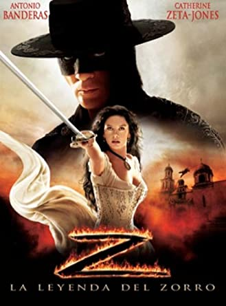 La leyenda del Zorro II [DVD]: Amazon.es: Antonio Banderas, Nick Chinlund, Rufus Sewell, Catherine Zeta-Jones, Martin Campbell: Cine y Series TV