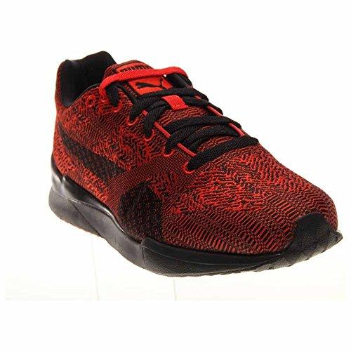 Puma Future XS500 Herren Woven Jogger Sneakers Schuhe Hohes Risiko Rot / Schwarz